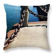 Waterfront Trail Throw Pillow