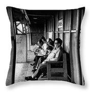 Watergate Memory Throw Pillow