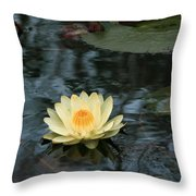 Waterlilly 1 Throw Pillow