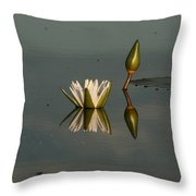 Waterlilly 4 Throw Pillow