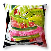 'watermelon' Throw Pillow