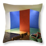 Watermelons Throw Pillow by Lynn Palmer