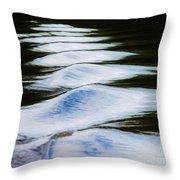 Watermountains Throw Pillow