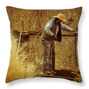Waters Gate Throw Pillow