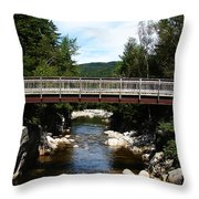Waters Journey Throw Pillow by Ella Char