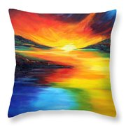 Waters Of Home Throw Pillow