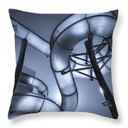 Waterslide Throw Pillow