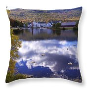 Waterville Valley 1 Throw Pillow