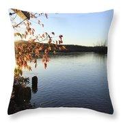 Waterways River View Throw Pillow