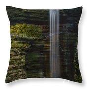 Watkins Glen Central Cascade Throw Pillow