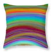 Wave-06 Throw Pillow