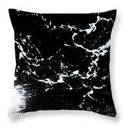 Wave 1 Throw Pillow