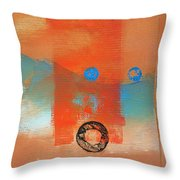 Wave Abstract Throw Pillow
