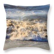 Wave Art 4 Throw Pillow