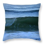 Wave Art 7 Throw Pillow