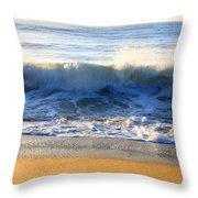 Wave Art Series 3 Throw Pillow