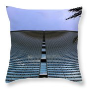 Wave Business Throw Pillow