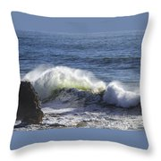 Wave Color Throw Pillow