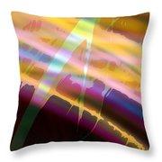 Wave Light Throw Pillow