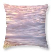 Wave Motion Throw Pillow