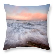 Wave On Wave Throw Pillow