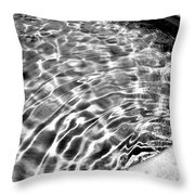 By The Pool Palm Springs Throw Pillow