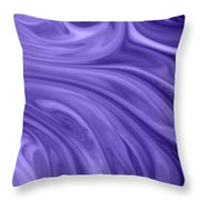 Waves 2 Throw Pillow by Riad Belhimer