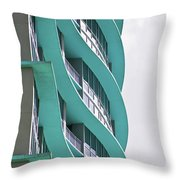 Waves At The Waverly Throw Pillow