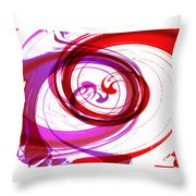 Circling Grace 3 Throw Pillow