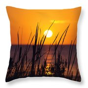 Waving Goodby Throw Pillow