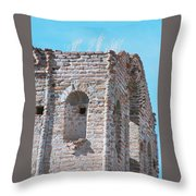 Waving To The Sky Throw Pillow