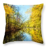 Waxen Autumn 1  Throw Pillow