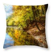 Waxen Autumn 3  Throw Pillow
