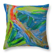Le Chemin De La Vie Throw Pillow