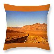Way Open Road Throw Pillow