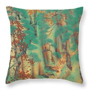 Way To Atago Throw Pillow