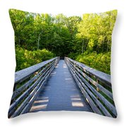 Way To Wilderness Throw Pillow