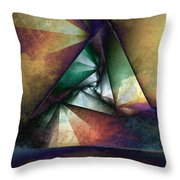 Way Towards The Unknown Throw Pillow