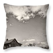 Way Up In The Clouds Throw Pillow
