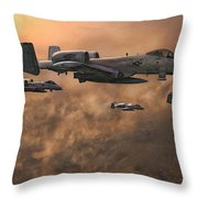 Waypoint Alpha Throw Pillow