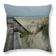 Ways To The Beach Series 5 Throw Pillow
