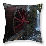 Wayside Inn II Throw Pillow
