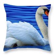 Wayward Swan 2 Throw Pillow