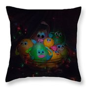 We Actually Are All In One Salad Bowl Throw Pillow