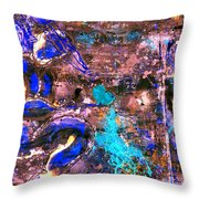 We All Bleed The Same Color Iv Throw Pillow