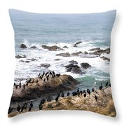 We All Can Get Along Throw Pillow