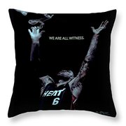 We Are All Witness Throw Pillow
