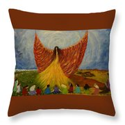 We Are Rising Throw Pillow