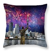 We Are The Stuff Of The Universe Throw Pillow