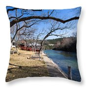 We Are Trees And We Are Life Throw Pillow